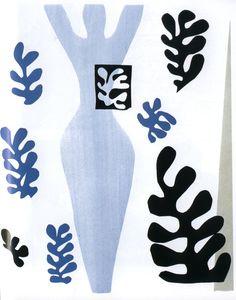 """Le lanceur de couteaux (détail), Henri Matisse, 1947#Henri Matisse (1869-1954) est un peintre emblématique du fauvisme, mouvement exaltant la couleur au début du 20ème siècle. Originaire de Picardie, Matisse se forma auprès de Gustave Moreau. Son oeuvre témoigne d'une réflexion sur la ligne et l'équilibre des formes. Matisse préfère """"couper"""" les formes dans la couleur, plutôt que colorer des formes préalablement dessinées. #http://urlz.fr/3rPx#amolenuvolette#115,1,24"""