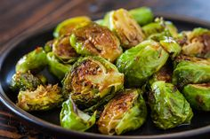 Roasted Brussels Sprouts, Sweet Chili Sauce ~ http://steamykitchen.com
