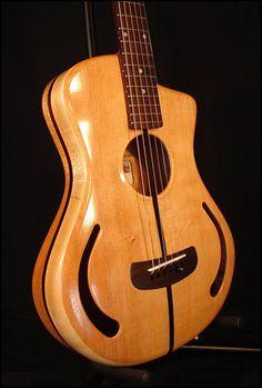 Heresy 1 acoustic ergonomic guitar KOZM