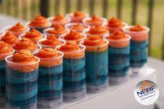 Nerf Birthday Party - Cake Push Pops