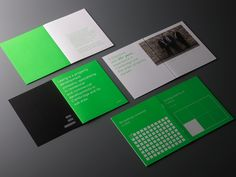 Brand identity and brochure for commercial and residential property developer Learig designed by The District, United Kingdom
