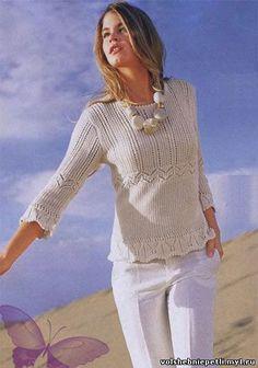 Вязанный Пуловер для женщин