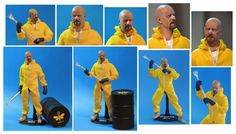 Awesome!!!!!!!!   Custom Breaking Bad Figures by *TrevorGrove on deviantART