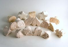 Texture Stamps for Clay Super Eight Pack Gift Set by GiselleNo5