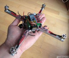Here are some pictures guide you through how to make a Arduino Nano quadcopter. It uses Arduino Nano as the micro-processor and Razor IMU. Arduino Laser, Arduino Wifi, Arduino Programming, Linux, Arduino Quadcopter, Fpv Drone, Drone Diy, Arduino Beginner, Drone Technology