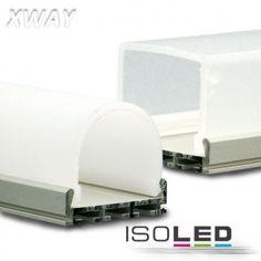 Montageprofil XWAY, eloxiert, L: 2000mm / LED24-LED Shop