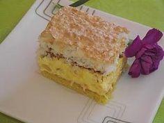 Ciasto kokosowo-ananasowe czyli pinacolada