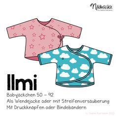 lmi ist eine süße und praktische Wickeljacke, die gerade bei sehr kleinen Babies das Anziehen enorm erleichtert - de...