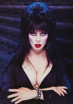 Elvira, Mistress of the Dark (Cassandra Peterson) turns 65 on September Cassandra Peterson, Dark Beauty, Gothic Beauty, Elvira Movies, Mystery, Film Serie, Before Us, Poses, Looks Cool