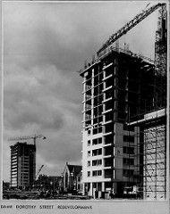 Dame Dorothy Street Redevelopment, 1960s | by Sunderland Museum & Winter Gardens Garden S, Winter Garden, Barbary Coast, New Topographics, Council Estate, Victorian Buildings, Sense Of Place, Slums, Sunderland