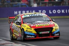 Chaz Mostert drives the Supercheap Auto Racing Ford Falcon FGX during Bathurst 1000 which is part of the Supercars Championship at Mount Panorama on October 8 2017 in Bathurst Australia. Le Mans, Mount Panorama, Australian V8 Supercars, V8 Cars, Aussie Muscle Cars, Ford Falcon, Race Day, October 8, Dream Cars