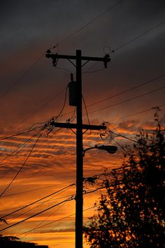 Love this sight. #powerlines <3 :))