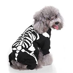 Material ? Our clothes is soft naturally, Soft Blend material, In addition to being a Halloween costume, it can also be used as a daily pet clothes,keep your puppy warm and comfortable. protected and care your pet's hair. Costume Halloween, Dog Skeleton Costume, Dog Halloween, Halloween Outfits, Halloween Christmas, Halloween Clothes, Christmas 2019, Cat Skeleton, Christmas Suit