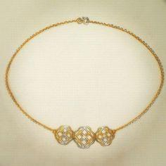 Gargantilha Athos em ouro amarelo 18k