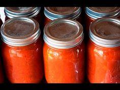 CONSERVA DI POMODORO A PEZZETTONI FATTA IN CASA - Homemade Diced Tomatoes - YouTube