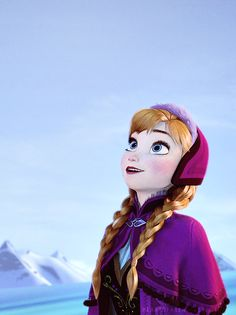 Anna from the Disney movie Frozen Frozen And Tangled, Frozen Movie, Frozen Princess, Anna Frozen, Disney Frozen, Disney And More, Disney Love, Disney Magic, Disney Art