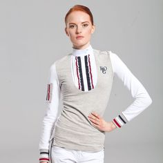 Ladies competion Rugby shirt with fancy details