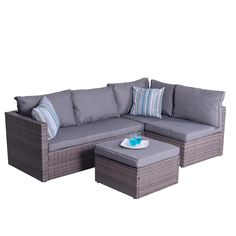 15 Auro Outdoor Furniture 5 Piece Sectional Sofa Review Ideas Sectional Sofa Sectional Furniture