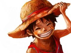 Monkey D Luffy - he is kawaii One Piece Luffy, One Piece Anime, Anime One, Monkey D Luffy, Mugiwara No Luffy, Ace Sabo Luffy, Zoro Nami, One Piece Pictures, The Pirate King