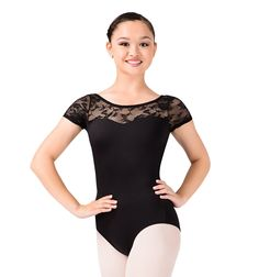 Been looking for a pretty but modest leotard for ballet class and saw this Natalie leotard - Style Number: N8774. I usually wear a black chiffon butterfly skirt, but I'm thinking of trying ballet shorts.