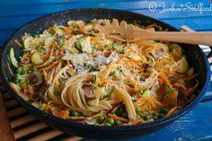 One Pot Pasta mit Gemüse und Thymian - Jankes Soulfood