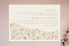 minted grainfield wedding invite via @REVEL