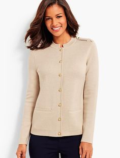 Merino Sweater Jacket | Talbots