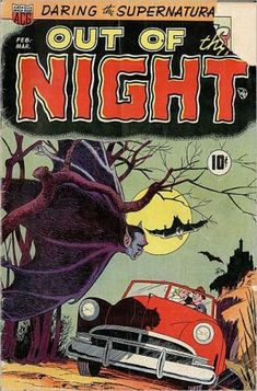 Vintage Horror Comics: Out of the Night No. 1 Circa 1951: King of the Vampires