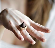 Chocolate Kiss Ring