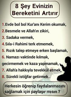 HUZUR SOKAĞI (Yaşamaya Değer Hobiler) Allah Islam, Alhamdulillah, Karma, Pray, The Cure, Religion, Faith, Quotes, Prayer