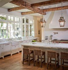 Open loft kitchen