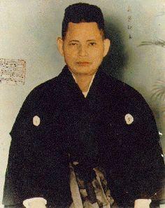 The founder of Isshin-Ryu Karate, Master Tatsuo Shimabuku.