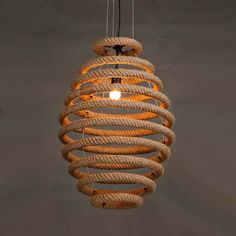 Quality Loft Vintage Rope Pendant Lights Industrial Lustre Round Pendant Lamp Bar Cafe Restaurant suspension luminaires hanglamp with free worldwide shipping on AliExpress Mobile Rope Pendant Light, Industrial Pendant Lights, Pendant Lighting, Rope Lighting, Task Lighting, Pendant Lamps, Round Pendant, Outdoor Lighting, Diy Home Crafts