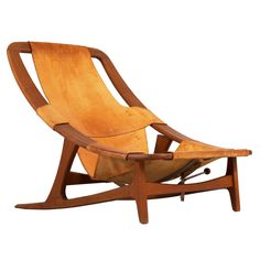 'Holmenkollen' Lounge Chair by Arne F. Tidemand Ruud | From a unique collection of antique and modern lounge chairs at https://www.1stdibs.com/furniture/seating/lounge-chairs/