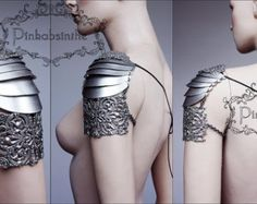 Elven warrior armor shoulder piece