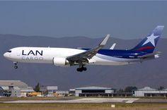 LAN Cargo, Chile - Boeing 767-300F freighter