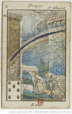 Jeu du Petit Oracle : [jeu de cartes, estampe] - 5 (1795-1799)