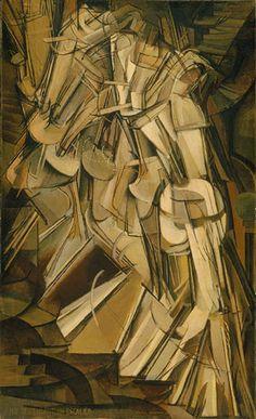 Marcel Duchamp (1887–1968) | Nude Descending | The Metropolitan Museum of Art