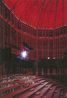 Kara-Za Theatre by Tadao Ando 1988