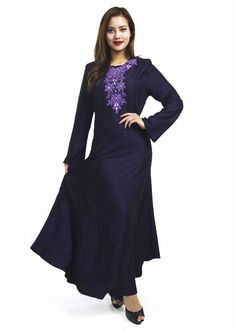 Embroidered Jubah Muslimah