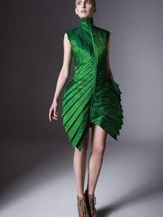Mimesis Green Leaf Dress | NOT JUST A LABEL