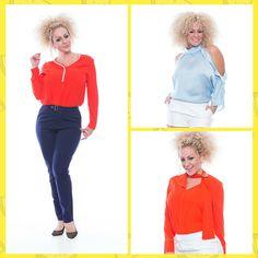 Nuevo entiendas - Blusas en combinación con pantalones largos cortos faldas o palazzos. Algunos de los modelos estan disponibles desde talla S hasta 3X.  Encuentra tu estilo WalmartPR | BURBUFASHION.COM #AffordableFashion #FashionColors