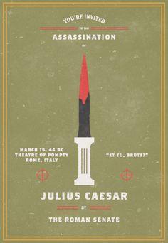 Julius Caesar ... Beware the Ides of March