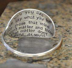 Personalized Spoon Cuff Bracelet by jjevensen on Etsy, $30.00