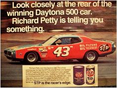 1974 Dodge Charger Richard Petty STP Oil ad