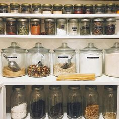 "358 Likes, 50 Comments - Kay Haupt (@kayhaupt) on Instagram: ""can I just say that cooking is ten times more fun in an organized pantry? and it's actually stayed…"""
