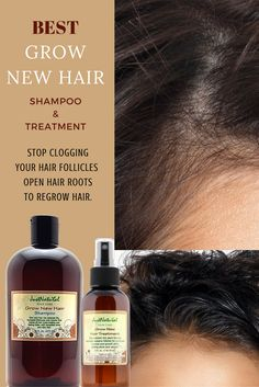 Focus On Your Scalp and Follicles for Faster Longer Hair Growth. Maybe you have weak hair, hair loss or thin hair. Perhaps you can see your scalp in some areas or your hair is falling due to breakage or other factors. Whatever the reason your hair stops growing this shampoo is your first step in the battle to restore the beautiful full hair that you were born with.