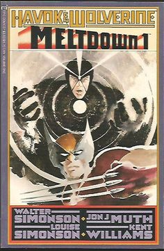 HAVOK & WOLVERINE Meltdown #1 Marvel Comics High Grade Deluxe Format