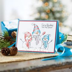Build a Snowman CardBuild a Snowman Card