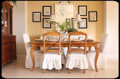June 2012 Cottage of the Month   Apollo Beach, FL. Slip it on the dining chair.